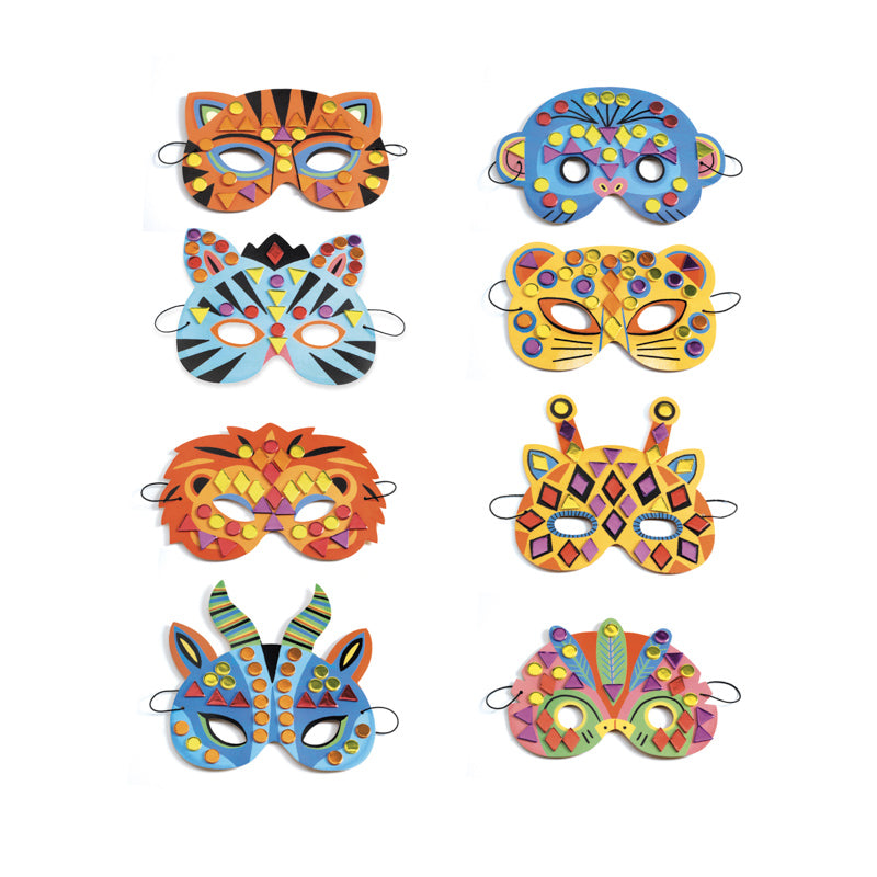 DIY JUNGLE ANIMAL MASKS