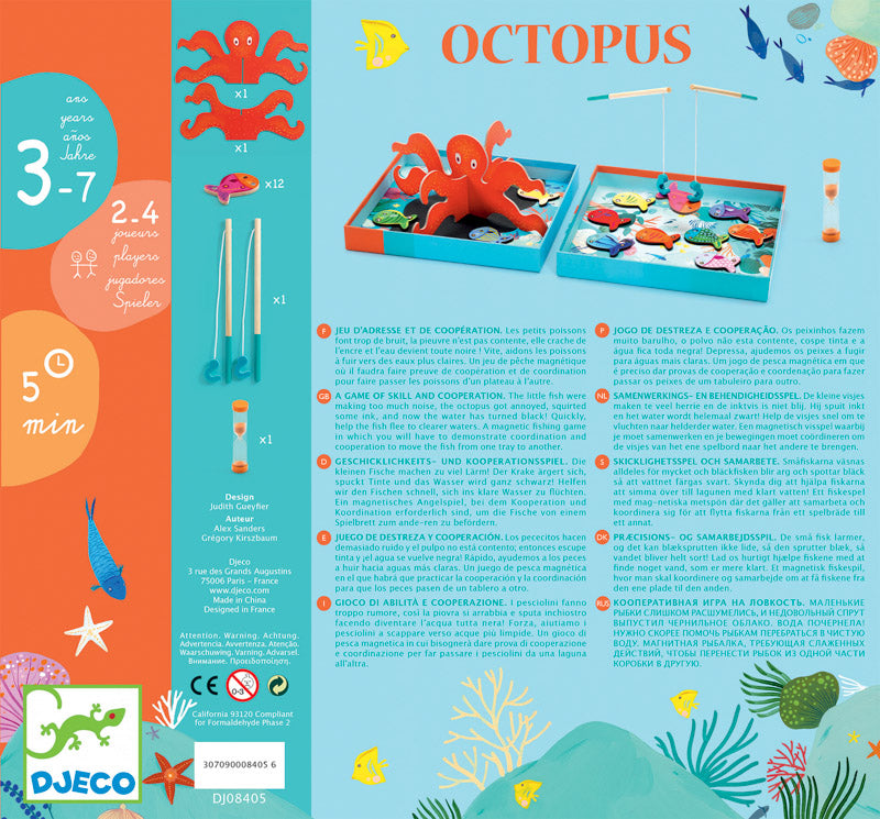 OCTOPUS - CO-OPERATION GAME