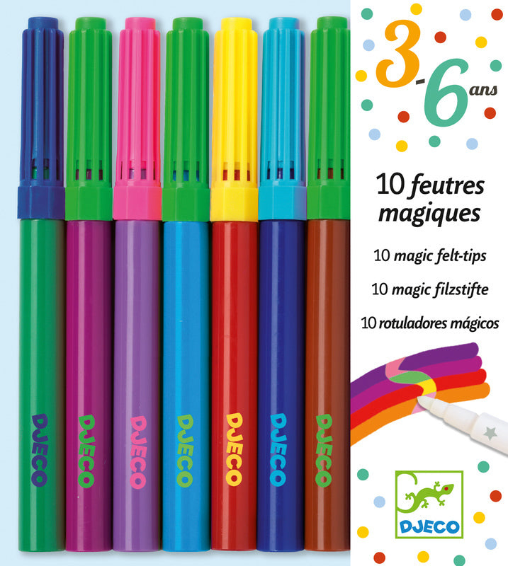 MAGIC FELT TIPS 10PK