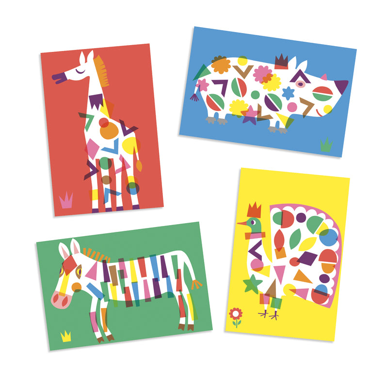 LARGE ANIMAL STICKERS