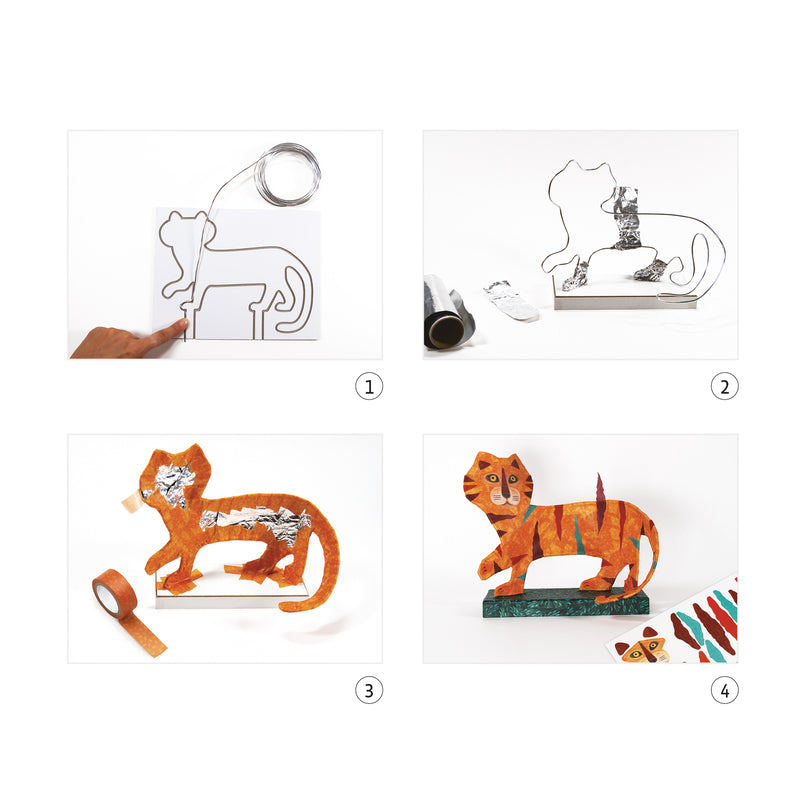 SCULPTURE WORKSHOP - TIGER