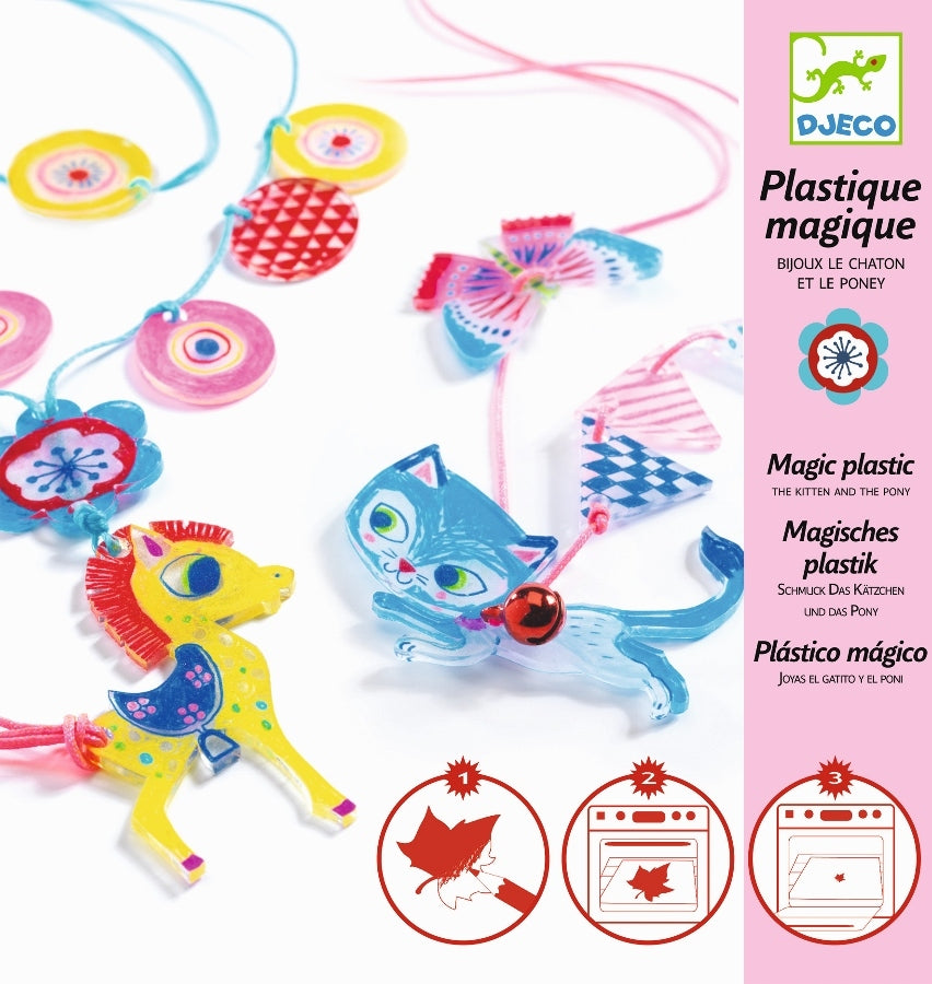 KITTEN & PONY ART & CRAFT KIT djeco