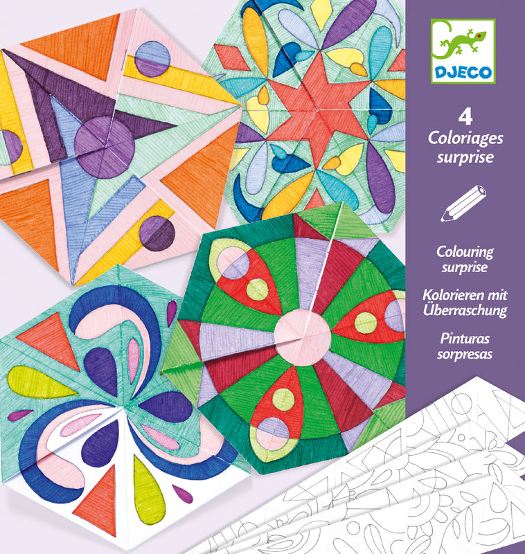 DJECO COLOURING SURPRISE ROSETTE MANDALAS