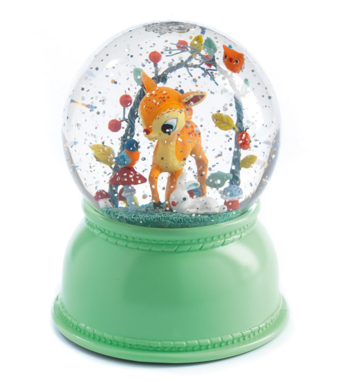 FAWN GLOBE NIGHT LIGHT