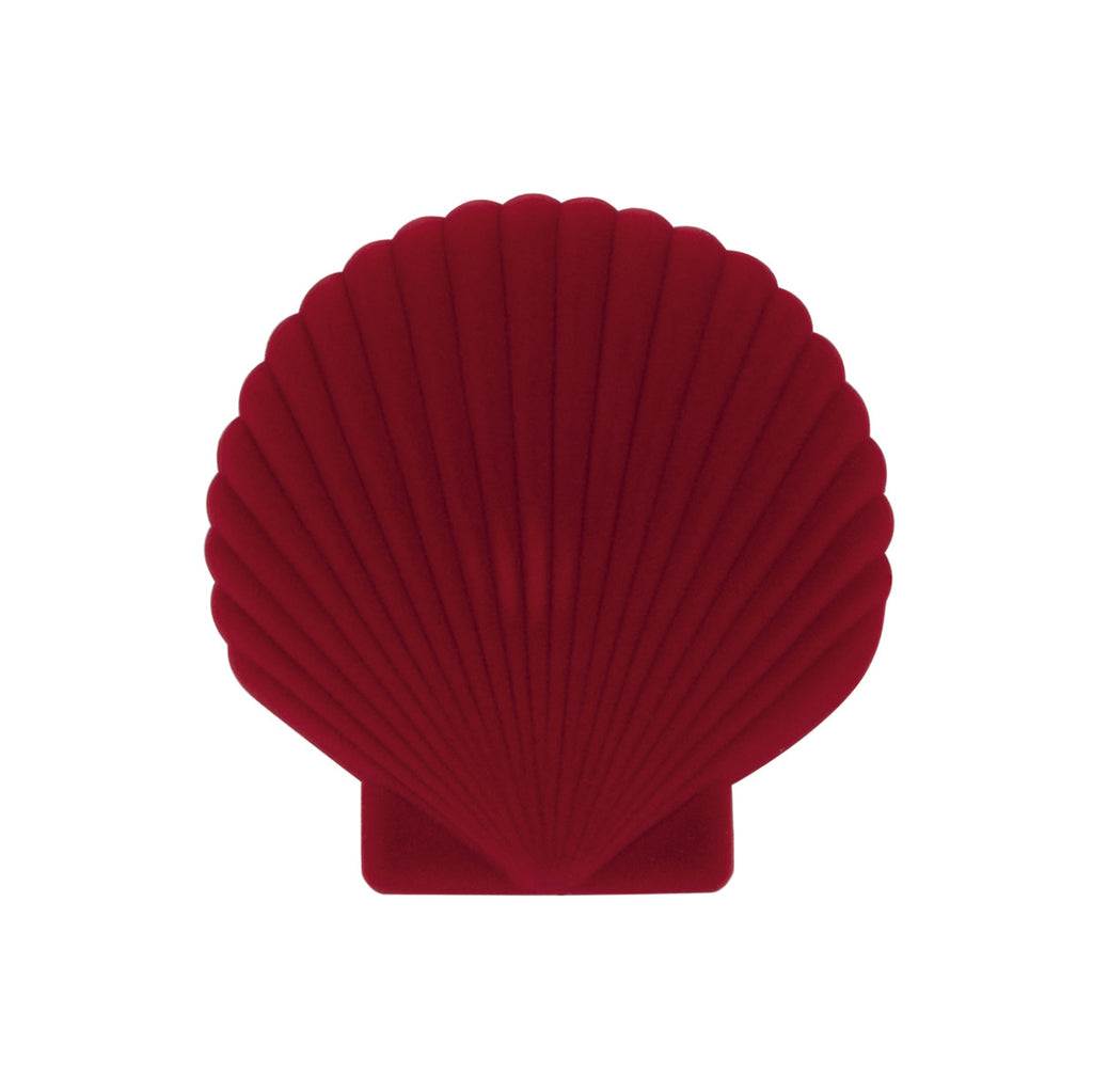 DOIY: SHELL JEWELRY BOX - RED
