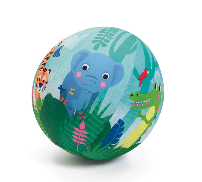 BALLOON BALL 23CM - JUNGLE