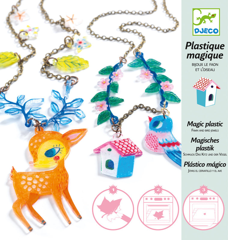 FAWN & BIRD SHRINKIES KIT DJECO