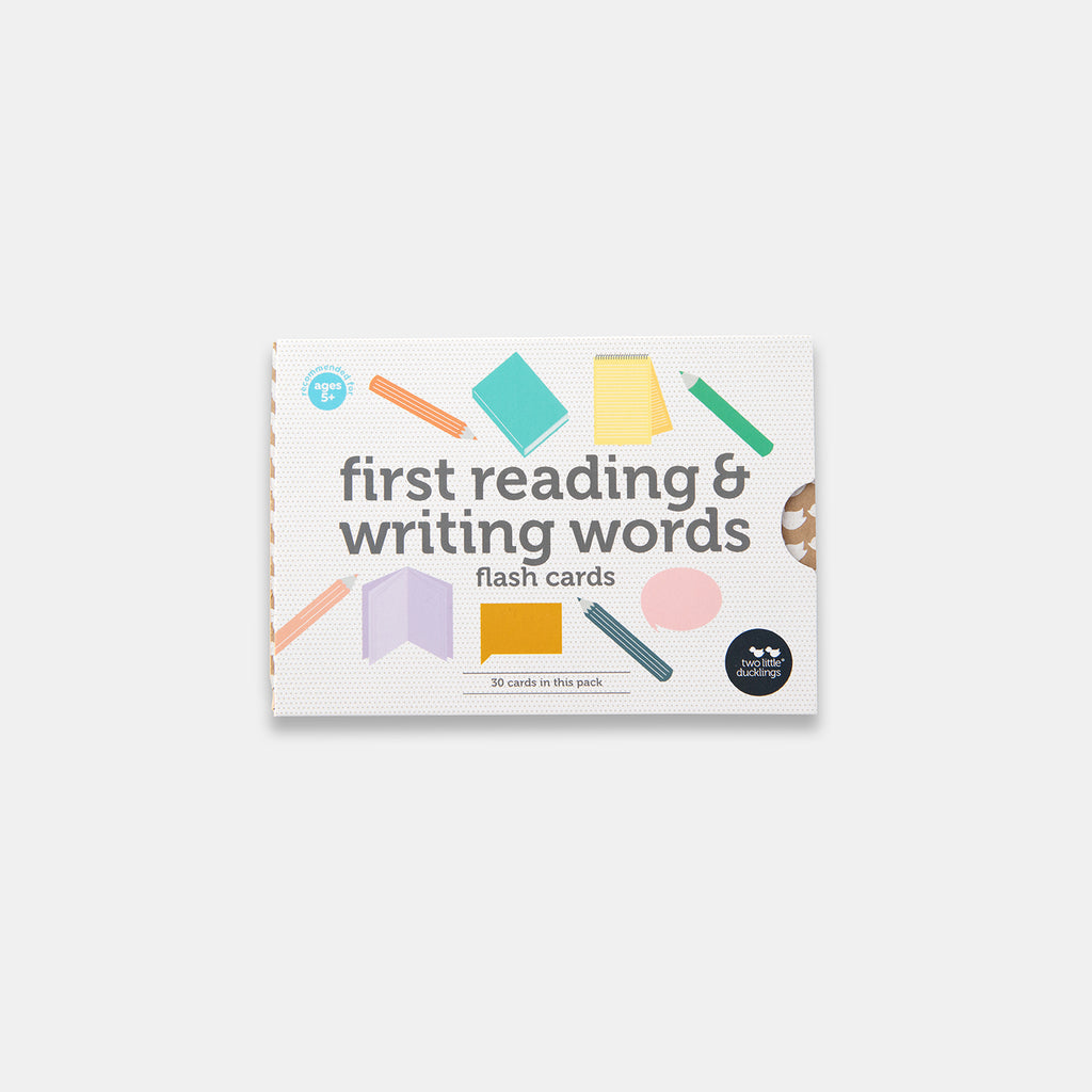 FIRST READING & WRITING WORDS - FLASH CARDS