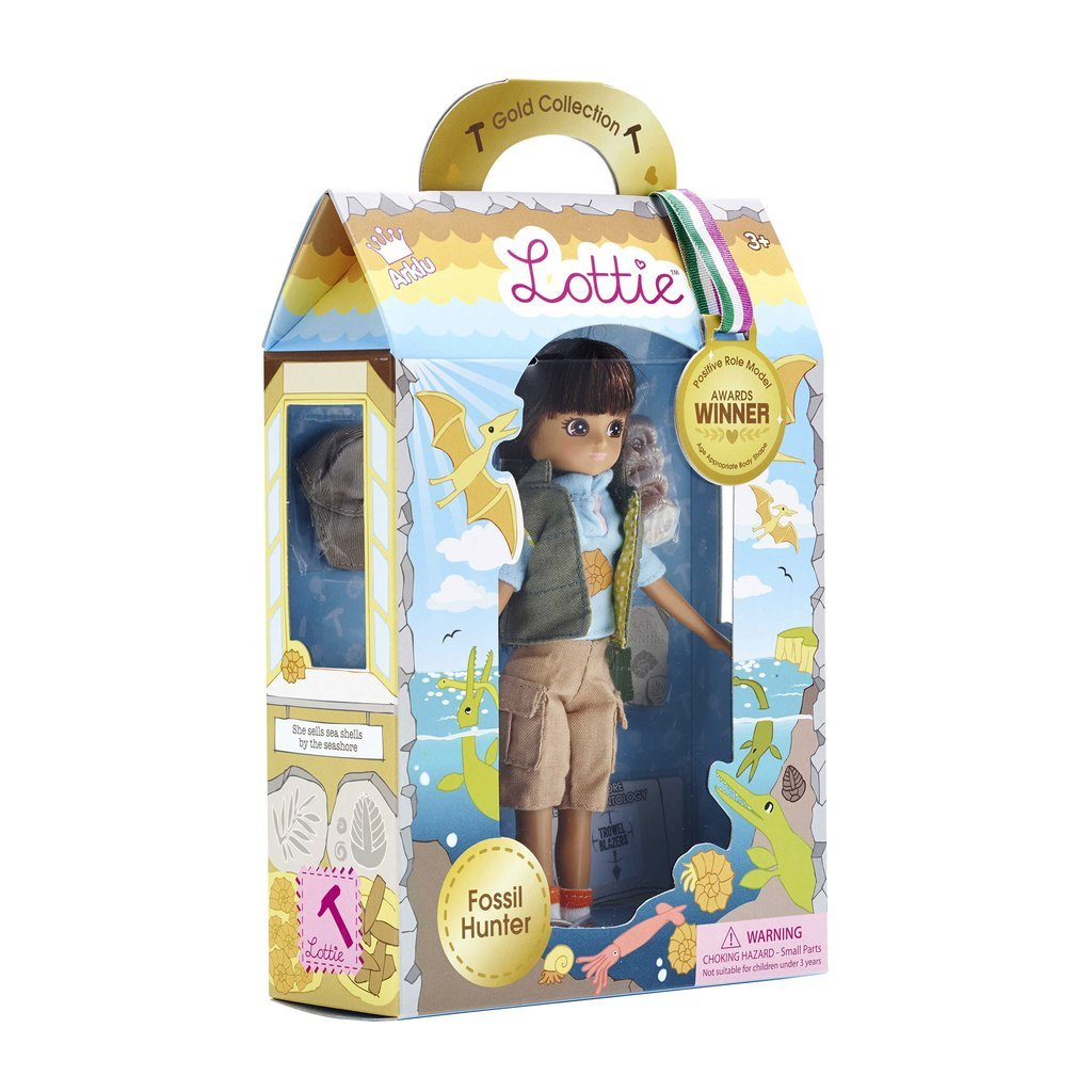 LOTTIE FOSSIL HUNTER DOLL