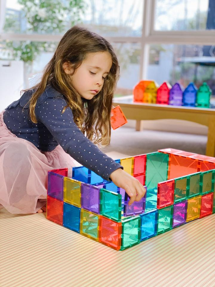 CONNETIX 40 PIECE MAGNETIC TILES