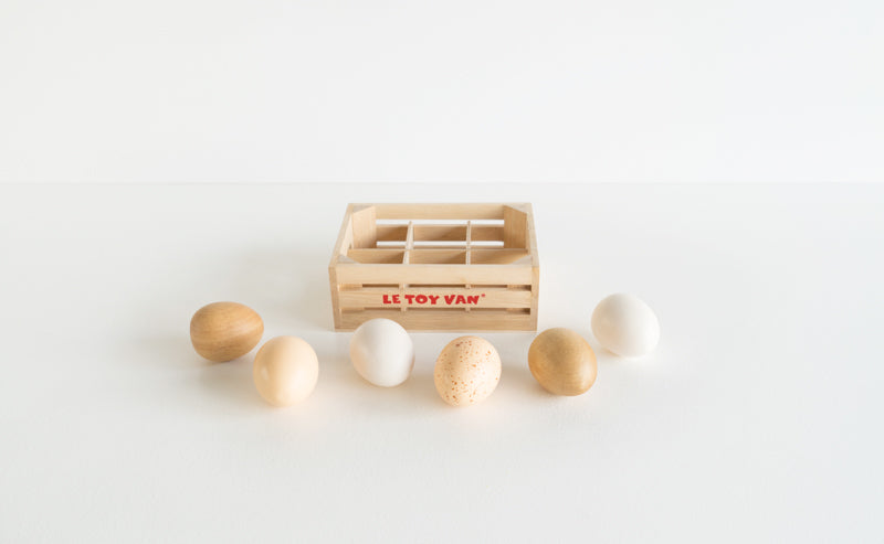 FARM EGGS - HAF DOZEN CRATE