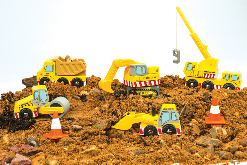CONSTRUCTION SET - 5 VEHICLES