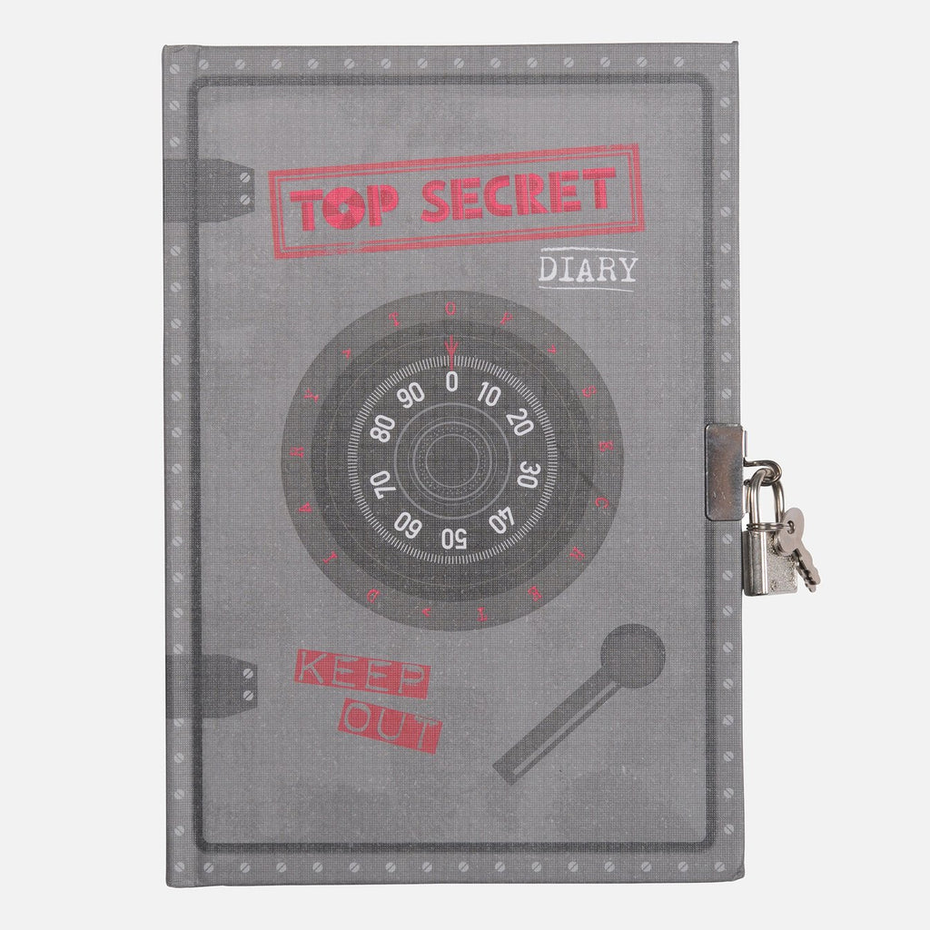 LOCKABLE DIARY- TOP SECRET