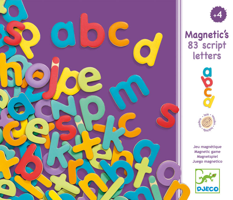 MAGNETIC L/CASE LETTERS
