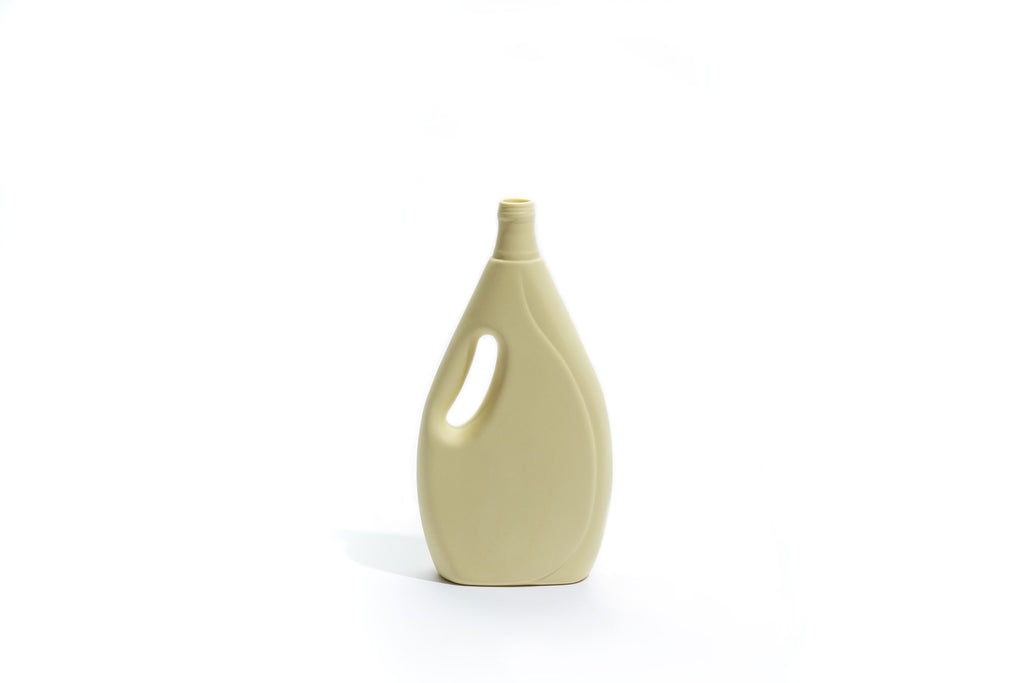 FOEKJE FLEUR X MK CERAMICS LAUNDRY DETERGENT BOTTLE - LEMON