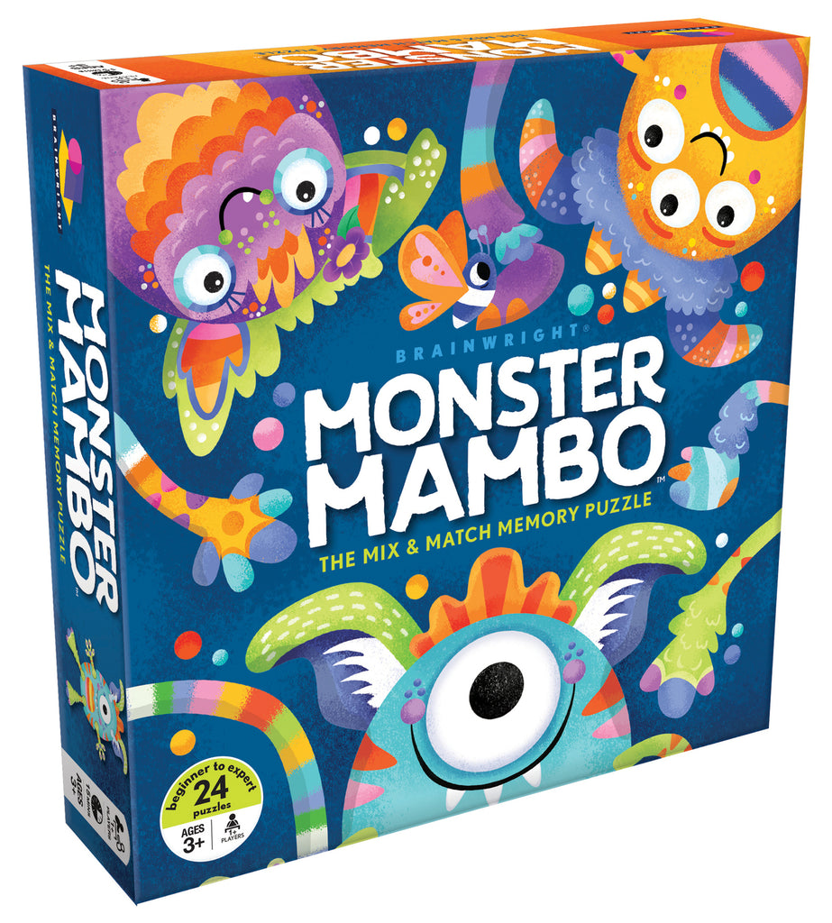MONSTER MAMBO - MIX AND MATCH MEMORY PUZZLE