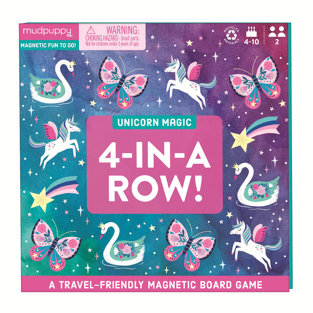 4-IN-A-ROW MAGNETIC BOARD GAME - MP