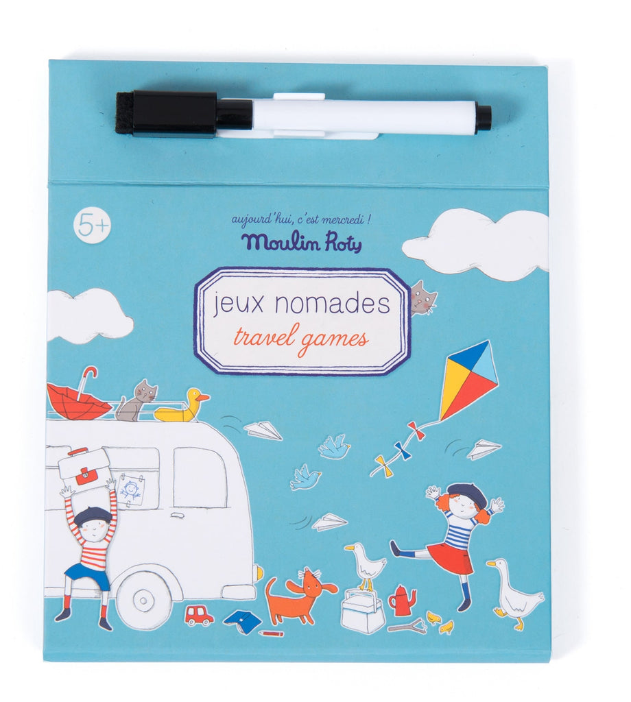 MAGNETIC TRAVEL GAMES - MOULIN ROTY