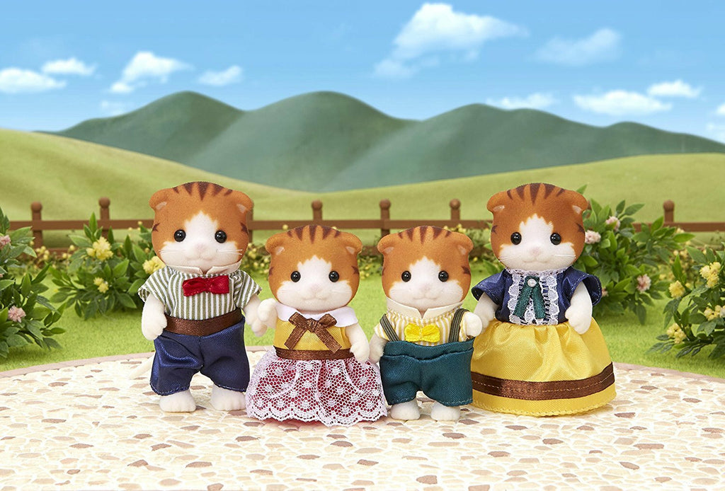 SYLVANIAN MAPLE CAT FAMILY