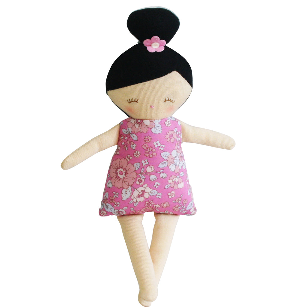 MAGGIE SQUEAKER DOLL - PINK FLORAL