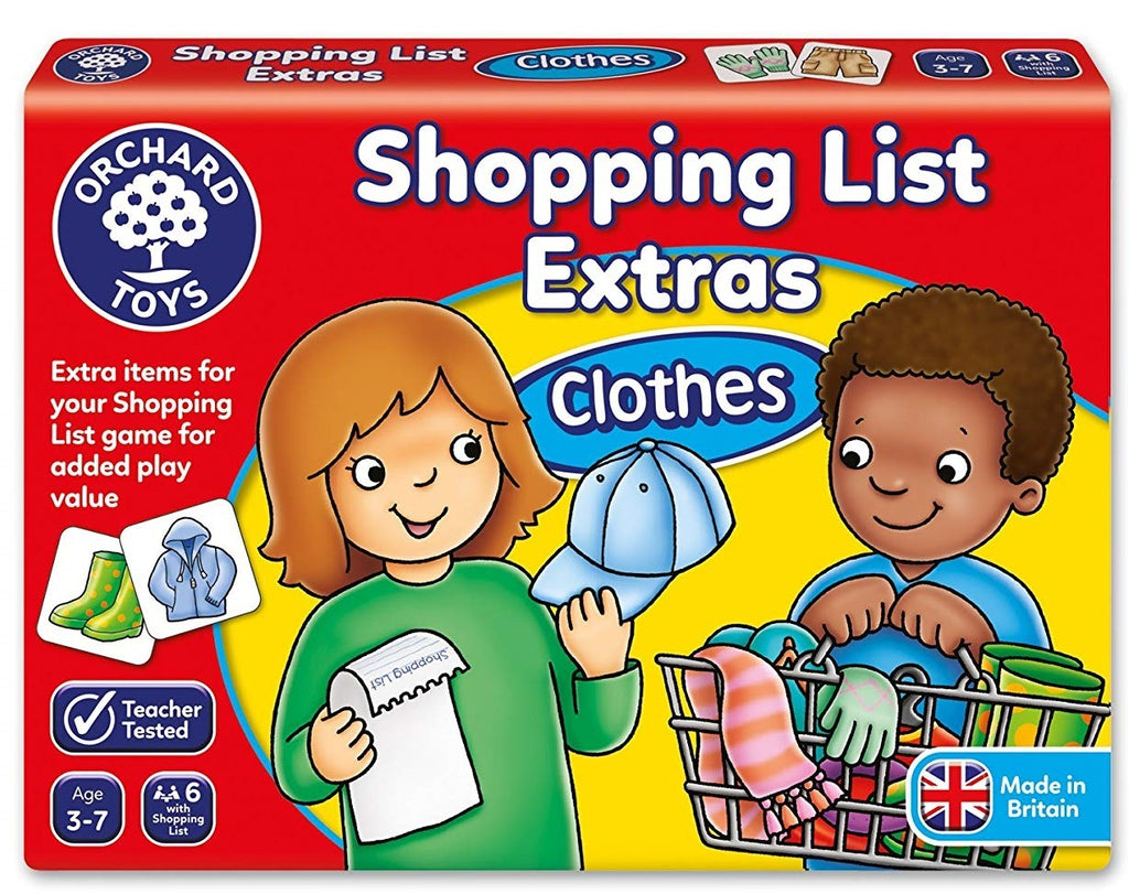 SHOPPING LIST BOOSTER - CLOTHES