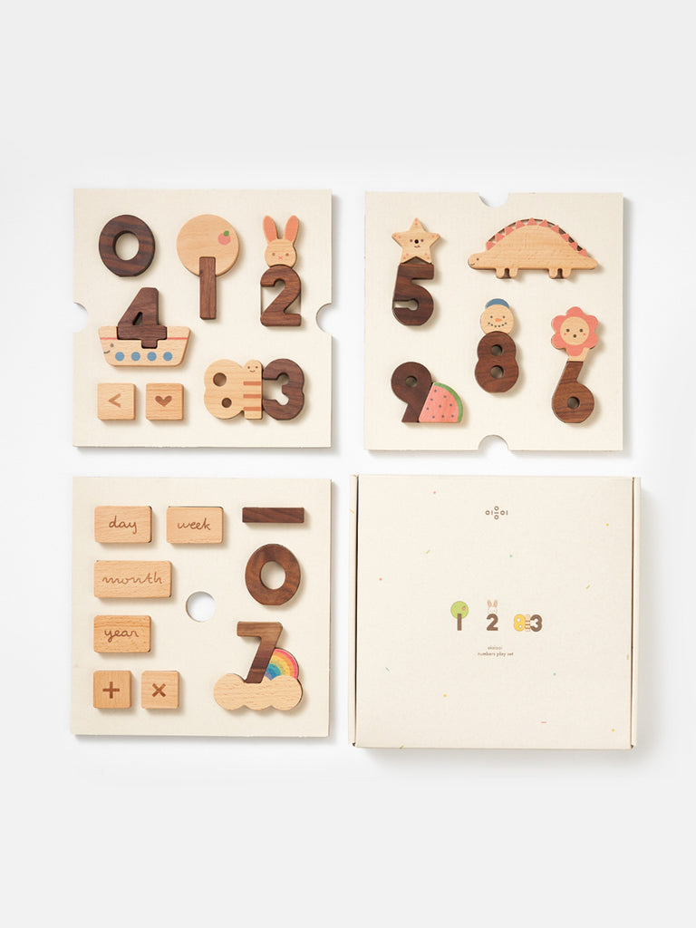OIOIOOI - NUMBERS PLAY SET - 30PC