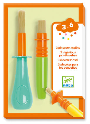 PAINTBRUSHES SET OF 3