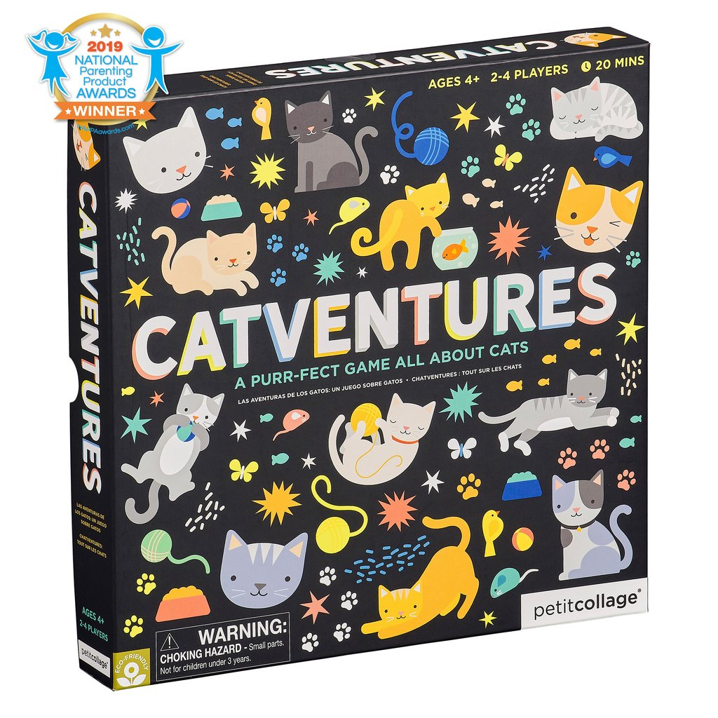 CATVENTURES BOARD GAME - PETIT COLLAGE