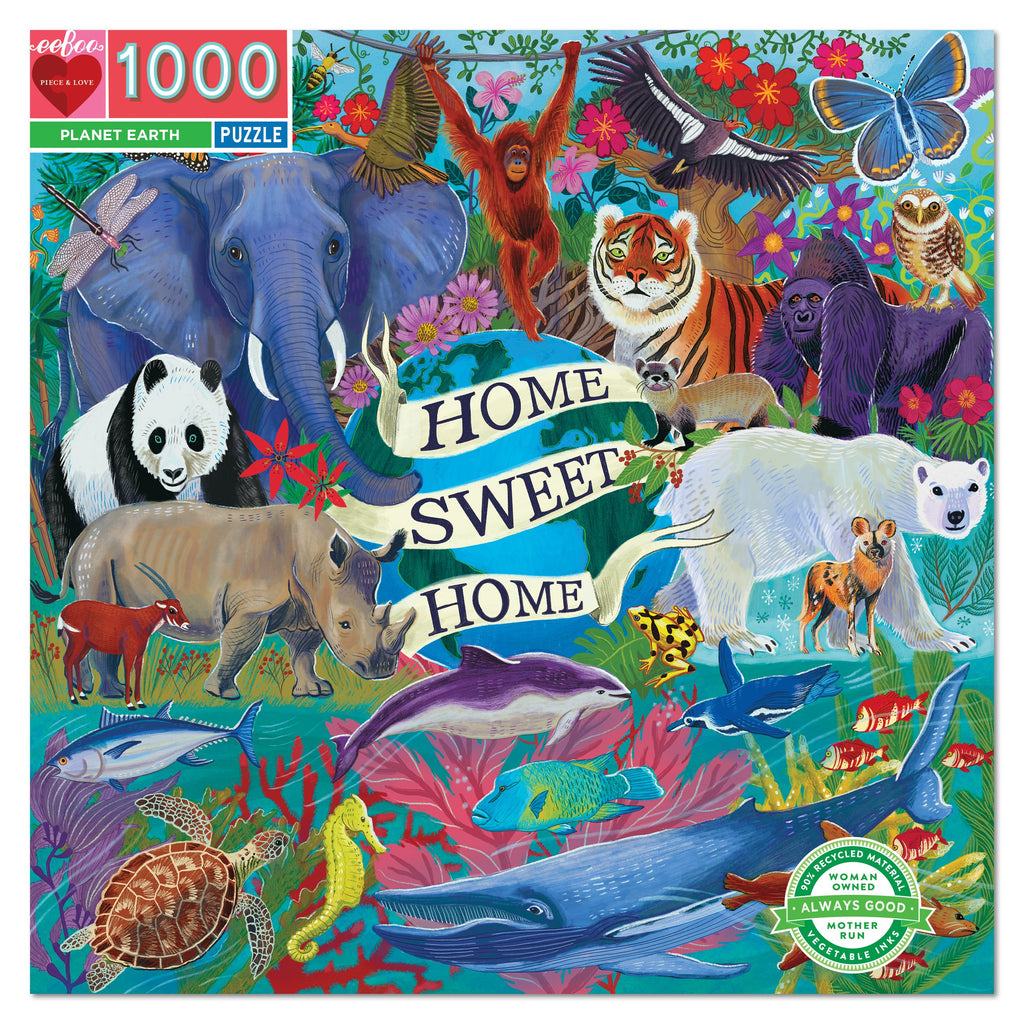1000PC PUZZLE - PLANET EARTH - EBOO