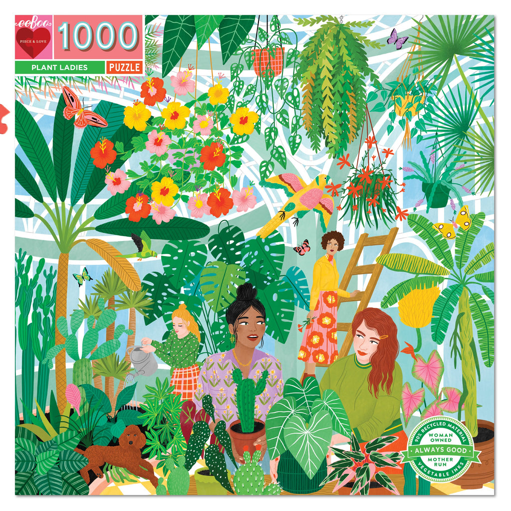 1000PC PUZZLE - PLANT LADIES - EBOO