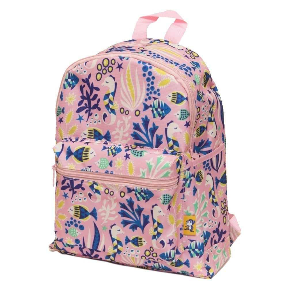 BACKPACK UNDER THE SEA PINK