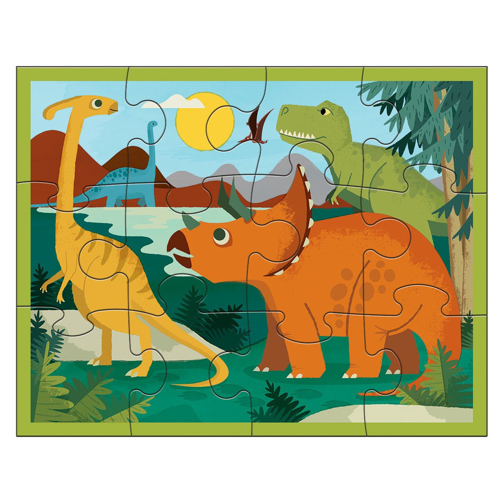 Mudpuppy Dino Park Pouch Puzzle