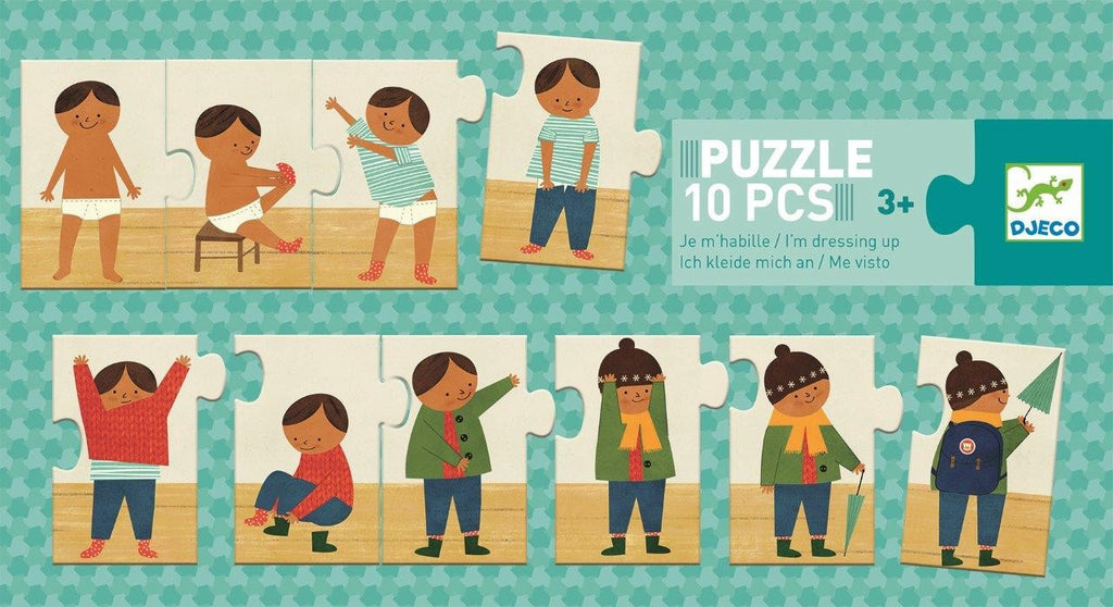 DRESSING UP PUZZLE 10 PCE