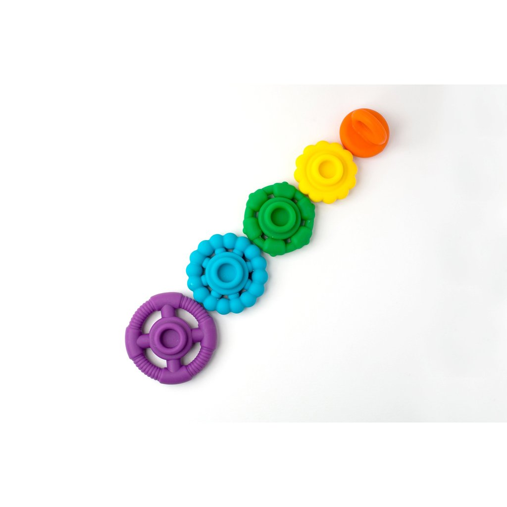 RAINBOW STACKER TEETHER & TOY