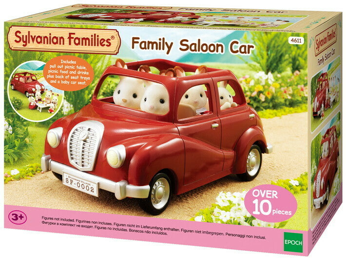 SYLVANIAN FAMILY SALOON CAR - RED