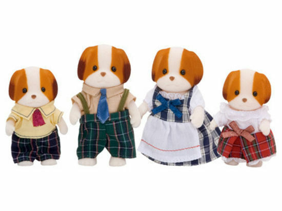 SYLVANIAN CHIFFON DOG FAMILY