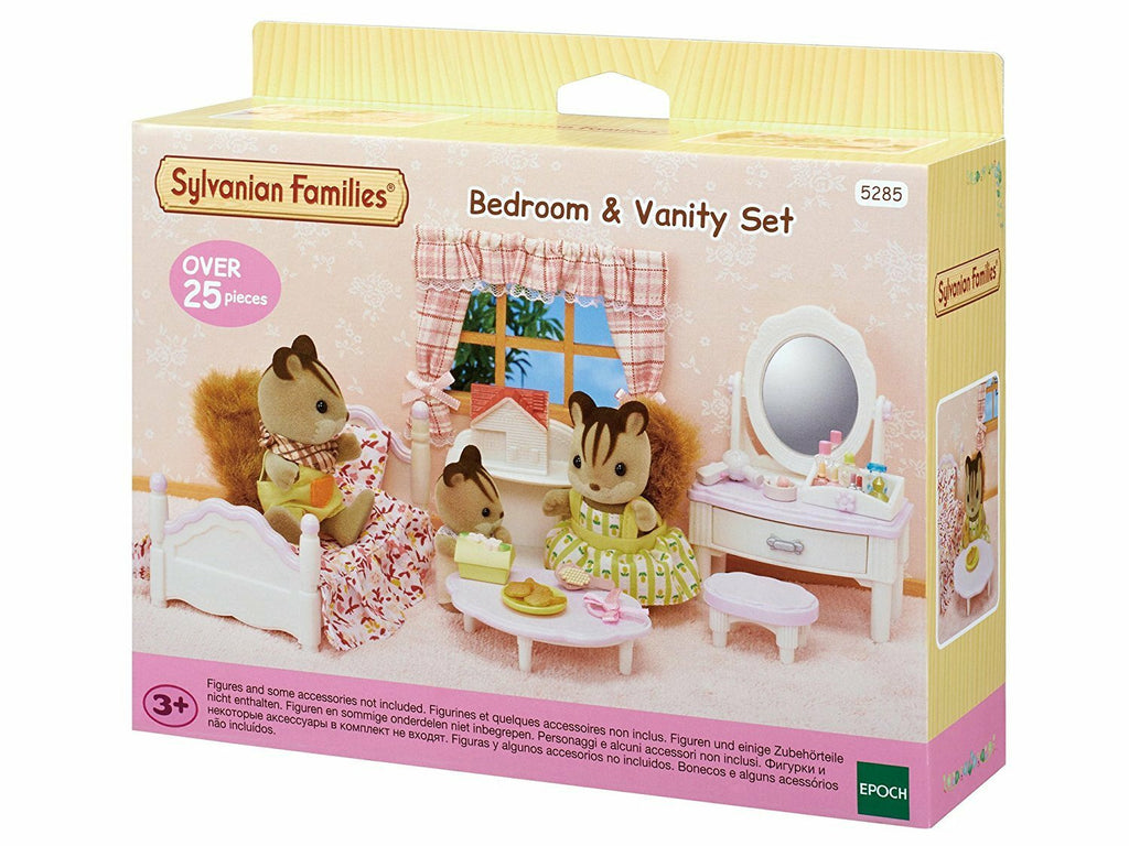 SYLVANIAN BEDROOM & VANITY SET