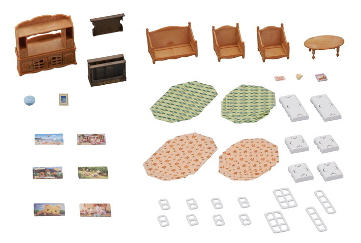 SYLVANIAN COMFY LIVING ROOM SET