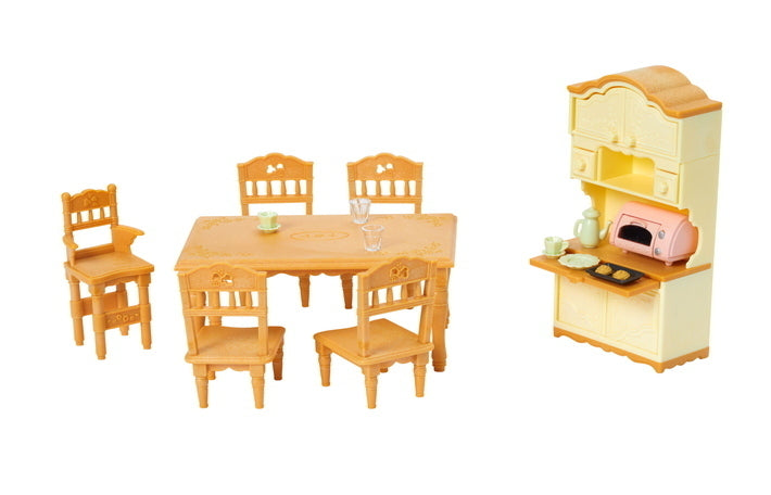 SYLVANIAN DINING ROOM SET