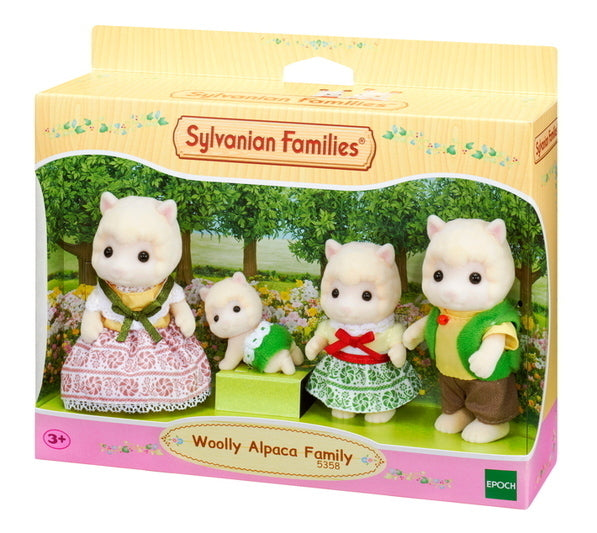 SYLVANIAN WOOLLY ALPACA FAMILY