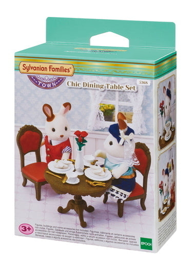 SYLVANIAN CHIC DINING TABLE SET