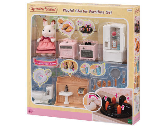 SYLVANIAN PLAYFUL STARTER FURNITURE SET