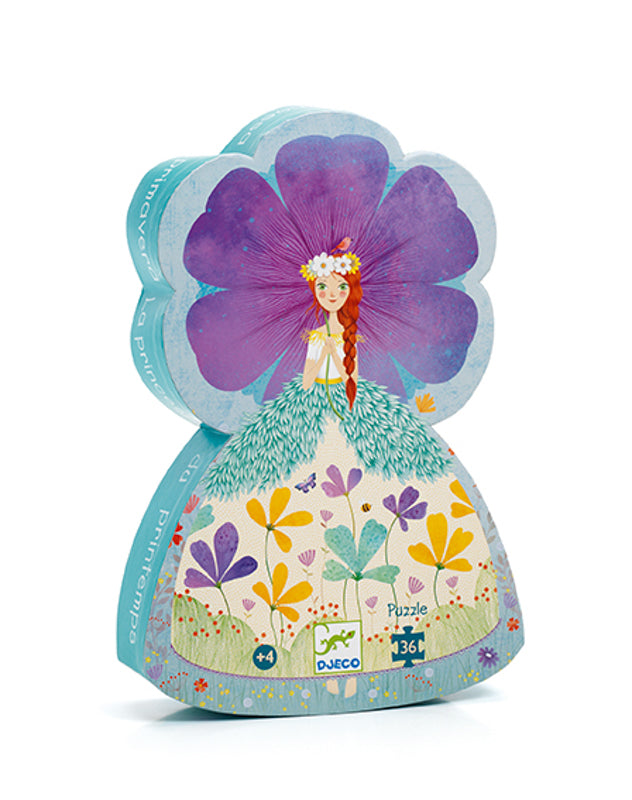 SILHOUETTE PUZZLE 36PC - THE PRINCESS OF SPRING