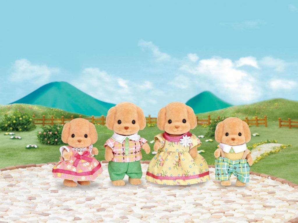 SYLVANIAN FAMILIES TOY POODLE FAMILY