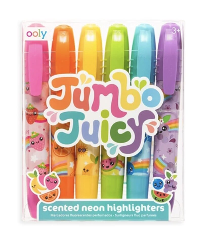 JUMBO JUICY SCENTED HIGHLIGHTERS