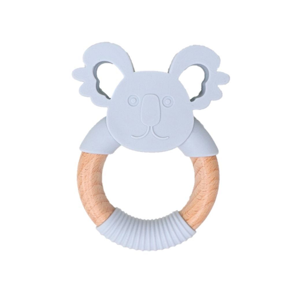 KOALA TEETHER - SOFT GREY