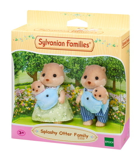 SYLVANIAN SPLASHY OTTER FAMILY