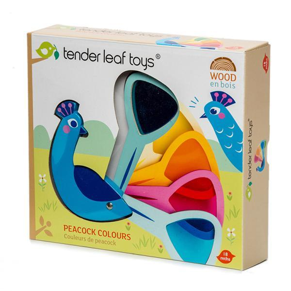 PEACOCK COLOURS - TENDER LEAF TOYS