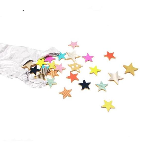 TANABATA STAR COOKIES - 25PC + BAG