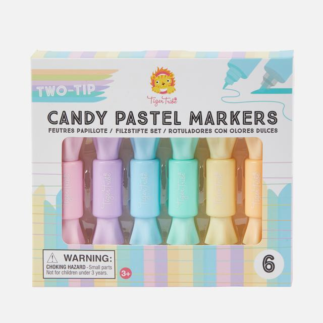 TWO TIP CANDY PASTEL MARKERS